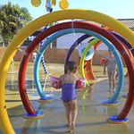 Wasserspielgerät für Spielplätze