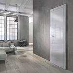 Tür für Innenbereich / einflügelig / Holz