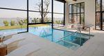 erdverlegtes Schwimmbecken / Feinsteinzeug / für Hotels / Park