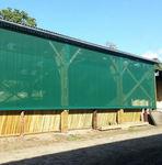 Stoff-Lüftungsgitter / rechteckig / für Fassaden / für Zuluft und Abluft