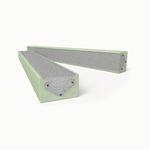 isolierender Sturz / Beton / Draht VSG / Fertigbau