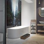 Badewanne für Eckeinbau