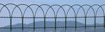 Metall-Geflecht / für Umzäunungen / verzinkter Stahl / mit Quadratmaschen