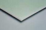 wasserabweisende Gipsplatte / rechteckig / Euroklasse A2 / für Trennwandsysteme