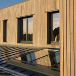 Aluminium-Dachverglasung