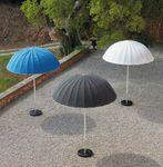 Sunbrella®-Sonnenschirm / Glasfaser / für Granit