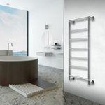 Heißwasser-Badheizkörper / Edelstahl / modern / für Badezimmer