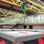 Gymnastik-Trampolin