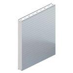 Sandwichplatte für Wände / einseitig metallbeschichtet / Isolierkern