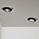 LED-Downlight / elliptisch / Metall / Objektmöbel