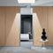 abnehmbare Trennwand / festinstalliert / Holz / Laminat