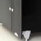 Sanitärkabine für Toilette / für Öffentliche Sanitäreinrichtungen / Stahl