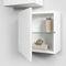 wandmontiertes Regal / modern / Holz / Badezimmer