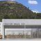 Fertigbau-Gebäude / Beton / Objektmöbel / modern