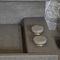 Aufsatzwaschbecken / rechteckig / Basalt / modern