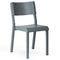 Stuhl / skandinavisches Design / Stapel / aus Eiche / geformtes Sperrholz