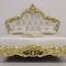Bett / King Size / queen size / Louis XV. Stil / gepolstertes Kopfteil