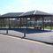 Metall-Textil-Überdachung für öffentliche Plätze / für öffentliche Bereiche