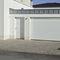 Tür zur Außenaufstellung / einflügelig / Holz / Stahl