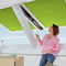 Projektions-Dachfenster / PVC / Doppelverglasung / 3-Fach-Verglasung