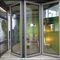 Innenbereich-Tür / faltbar / Aluminium / mit Wärmedämmung