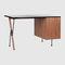 Holz-Schreibtisch / Laminat / modern / integrierter Stauraum