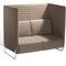 modernes Sofa / Stoff / aus Buche / 2 Plätze