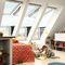 Projektions-Dachbalkonfenster