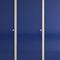 Sanitärkabine für Toilette / für Öffentliche Sanitäreinrichtungen / HPL / Glas / Holz