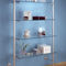 wandmontiertes Regal / modern / Glas