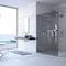 begehbare Dusche / Glas / rechteckig