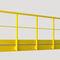 Verbundwerkstoff-Geländer / mit Stangen / Innenraum / Außenbereich