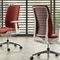 moderner Bürosessel / Stoff / Metall / sternförmiger Fuß