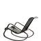 moderner Sessel / Baumwolle / aus Buche / Leder