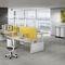 Schreibtisch für Open Space / Holz / modern / Objektmöbel