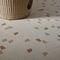 Innenraum-Mosaikfliese / Boden / Feinsteinzeug / quadratisch