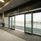Aluminium-Fenstertür / Doppelverglasung / mit Wärmedämmung