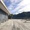 Parkbank / modern / Holz / Beton