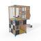 Spielplatzgerät für öffentliche Einrichtungen / für öffentliche Räume / Holz / modular