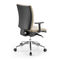 moderner Bürostuhl / mit Armlehnen / Polster / mit Rollen
