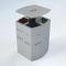 Park-Abfallbehälter / Stahl / verzinkter Stahl / modern