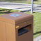 Park-Abfallbehälter / Metall / für öffentliche Bereiche