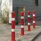 Sicherheits-Sperrpfosten / Stahl / abnehmbar / hoch