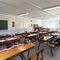 Fertigbau-Gebäude / Modul / Stahl / für Schulen