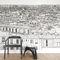 moderne TapetePapier peint Vue de Paris Opéra Grand Palais PanoramiqueOhmywall