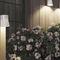 Garten-Leuchtpoller / modern / Holz / LED