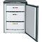kompakter Gefrierschrank / weiß / energiesparend / Einbau