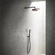 wandmontiertes Duschsystem / modern / mit Handbrause