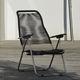 moderner Sessel / Aluminium / Kordel / Garten