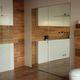 Tür für Innenbereich / Aluminium / einflügelig / verglast